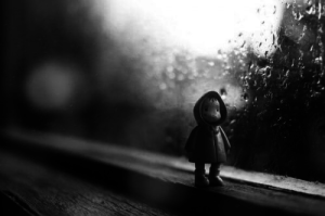 Emotionale Probleme, eine Gefahr, die auch Kinder betrifft
