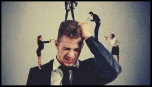 Menschen, die Angst vor Konflikten haben