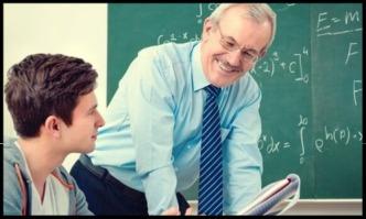Lehrer aufgepasst