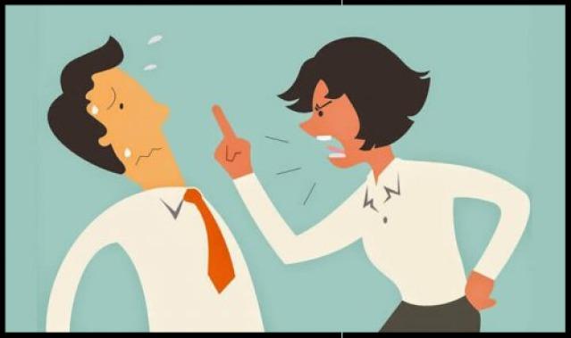 Aggressive Konversation vermeiden