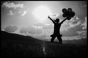 Mutig sein bedeutet, für einen Moment das Gleichgewicht zu verlieren