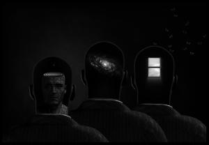 Drei Gehirne, eine Person