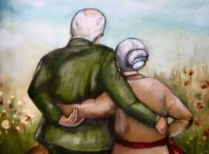 Das Herz wird nicht alt, nur die Haut bekommt Falten