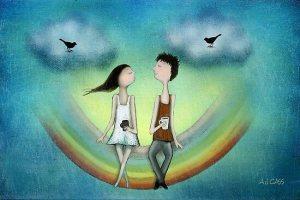 Es sind die Unterschiede, die die Liebe erhalten