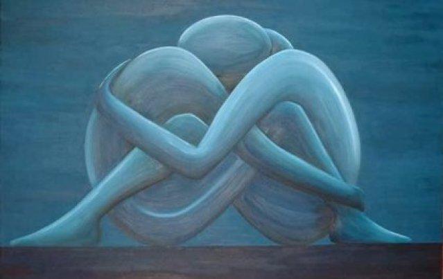 Paar, das sich umarmt