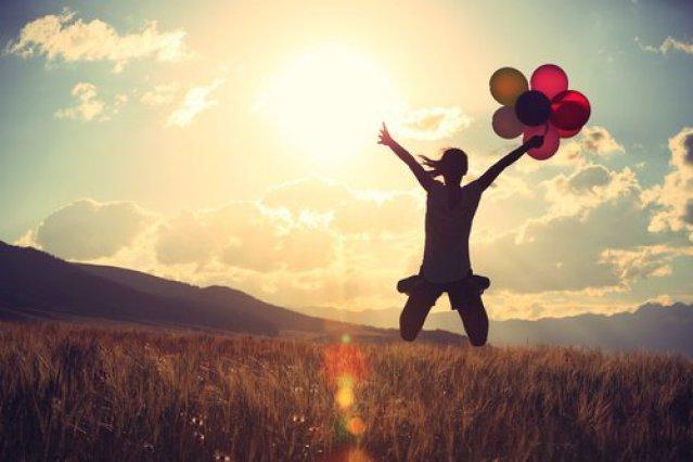 Mut, das Leben zu genießen